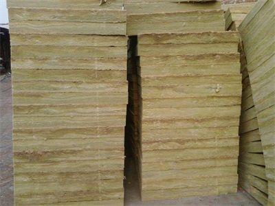 岩棉板的批发制作